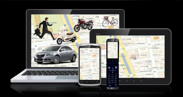 GPS追跡アプリ