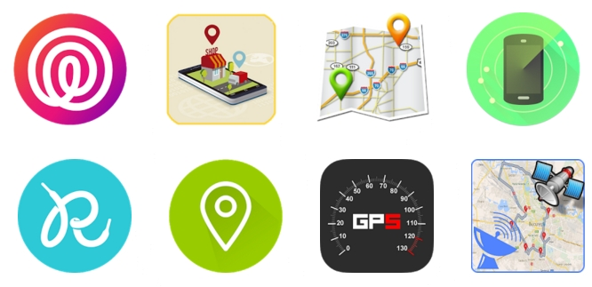 GPS追跡アプリトップ
